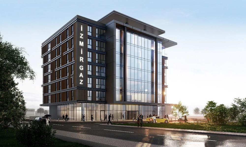 İzmir İş Merkezi İnşaatı Projesi